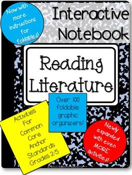 Interactive Reading Notebook: Common Core Reading Literature