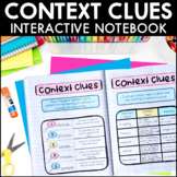 Context Clues - Reading Interactive Notebook | Distance Learning