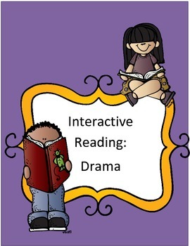 Drama Interactive Reading Notebook Pages