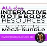Interactive Reading Notebook Fiction and Nonfiction Mega Bundle