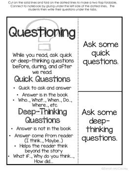 Interactive Reading Notebook (Grades 3-5)