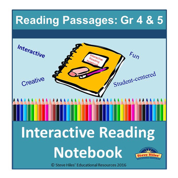 Interactive Reading Notebook:Gr 4-5