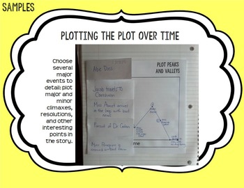 Interactive Reading Notebook & Graphic Organizers: Journals / Lapbooks