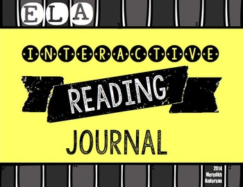 Interactive Reading Notebook & Graphic Organizers: Journal