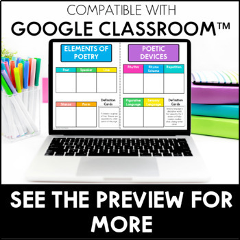 Reading Interactive Notebook w/ Option for Google Slides™ | Distance Learning