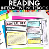Reading Interactive Notebook w/ Option for Google Slides™