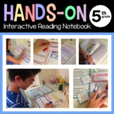 Interactive Reading Notebook Fifth Grade Common Core with Scaffolded Notes
