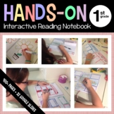 Interactive Reading Notebook First Grade Common Core with Scaffolded Notes