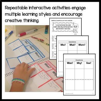 Interactive Reading Notebook Second Grade Common Core