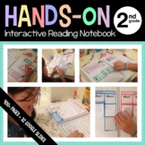 Interactive Reading Notebook Second Grade Common Core with Scaffolded Notes