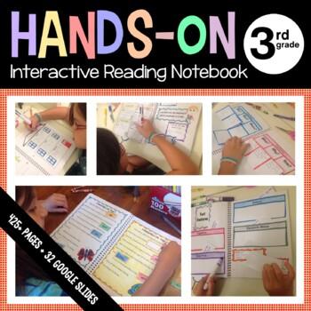 Interactive Reading Notebook Third Grade Common Core