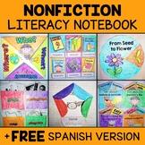 Nonfiction Literacy Interactive Notebook Activities
