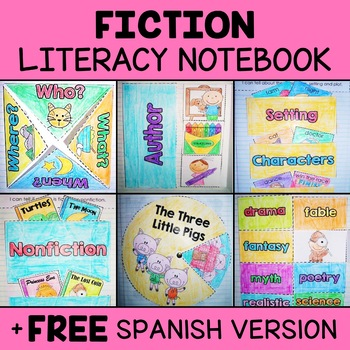 Interactive Notebook - Fictional Literacy