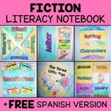 Fictional Literacy Interactive Notebook Activities