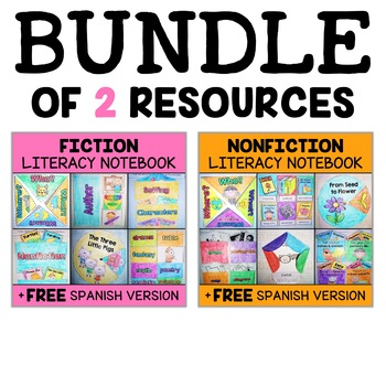 Literacy Interactive Notebook Bundle