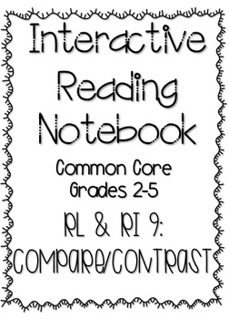 Interactive Reading Notebook: Literature and Informational Text Standard 9