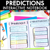 Making Predictions - Reading Interactive Notebook | Distan