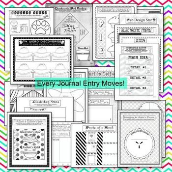 Interactive Non-Fiction Reading Notebook: Use Any Informational book!