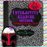 Nonfiction Interactive Reading Notebook: Kindergarten and 1st Grade Activities