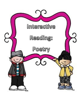 Poetry Interactive Reading Notebook Pages