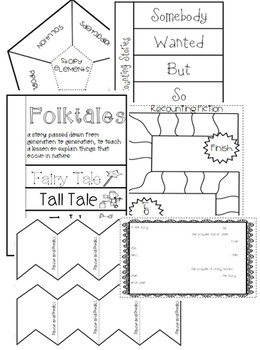 Interactive Reading Notebook: Reading Literature Standard 2