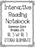 Interactive Reading Notebook: Reading Literature Standard 5 w/7