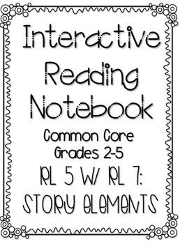 Interactive Reading Notebook: Reading Literature Standard 5
