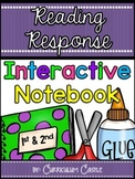 Interactive Reading Notebook: Reading Response Journal for 1st & 2nd Grade!