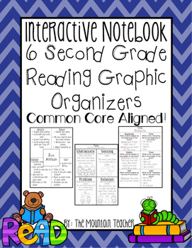 Interactive Reading Notebook - Second Grade Reading Graphi