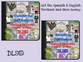 Interactive Reading Notebook - Spanish & English versions