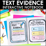 Text Evidence - Reading Interactive Notebook