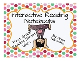 Interactive Reading Notebook for Reading Street Unit 1 Fir