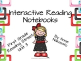Interactive Reading Notebook for Reading Street Unit 3 First Grade
