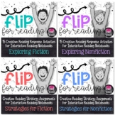Interactive Reading Notebook Bundle- Flip for Reading!
