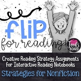 Interactive Reading Notebook | Reading Response | Nonficti