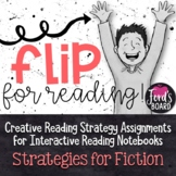 Interactive Reading Notebook | Reading Response | Fiction Reading Strategies