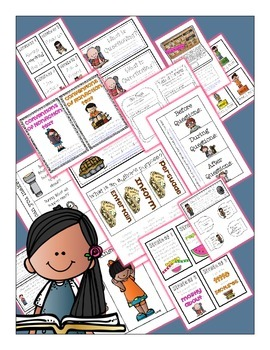 Interactive Reading Notebook using Fictional and Nonfictional Text for 1st Grade