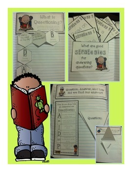 Interactive Reading Notebook with Fictional and Nonfictional Text for 3rd Grade