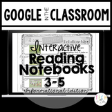 READING STRATEGIES GOOGLE INTERACTIVE NOTEBOOKS: 3-5 INFOR