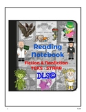 Interactive Reading Notebooks 3rd y 4th - TEKS - All year content.