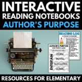 Author's Purpose | Reading Comprehension Strategies | Inte