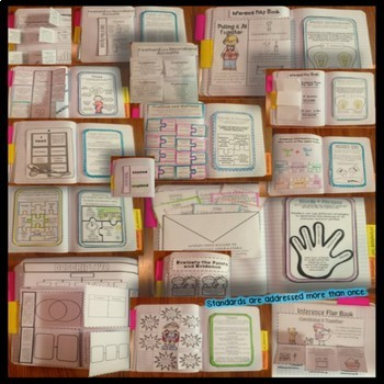 "Interactive Reading Notebooks Common Core 4+1 Close Reading ""4 STAR"" Notebook"