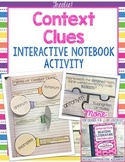 Interactive Reading Notebooks ~ FREE Bonus Lesson! Context Clues