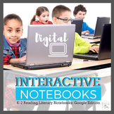 Interactive Reading Notebooks: K-2 Literary Edition {Googl