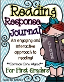 Interactive Reading Response Journal {First Grade}