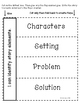 Interactive Reading Response Notebook-CCSS Aligned Grades K-2