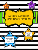Interactive Reading Response Notebook-CCSS Aligned Grades K-2