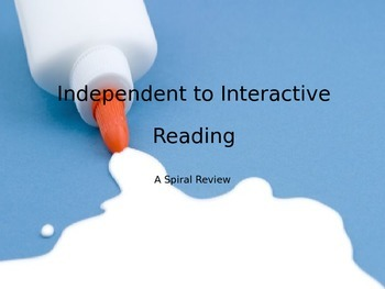 Interactive Reading Set Up Powerpoint