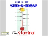Interactive Reading Stamina Thermometer
