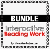 Interactive Reading Work Book {BUNDLE}